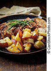 Sliced Pork Tenderloin Rosemary - Sliced honey mustard roast...