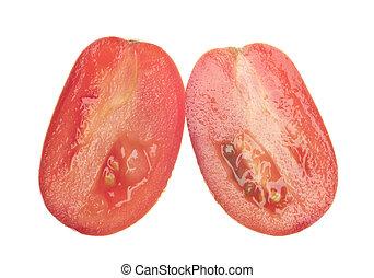 Sliced Roma Tomato