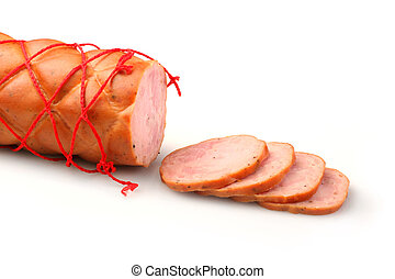 Sliced sausage