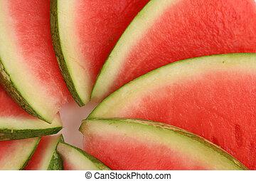 watermelon - sliced watermelon