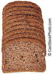 Sliced Wheat Bread Vector Illustration