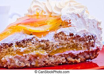 slices cake