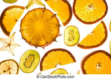Slices fruit