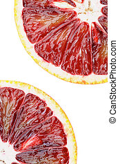 Slices of Blood Oranges