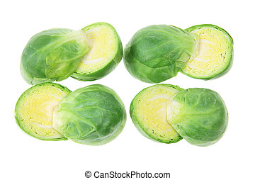 Slices of Brussel Sprouts