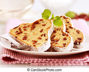 Slices of stollen