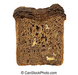 slices of whole wheat fruit bread
