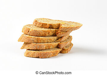 slices of wholegrain bread
