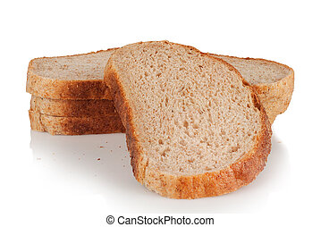 slices of wholemeal bread