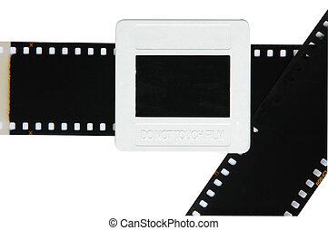 slide film and frame