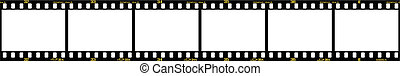 slide filmstrip - 35mm slide/positive frames in filmstrip,...