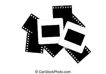 slide frame and film
