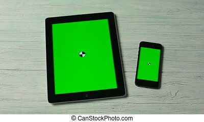 Slide Moves on Tablet Pc and Smartphone