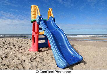 Slide on the Beach