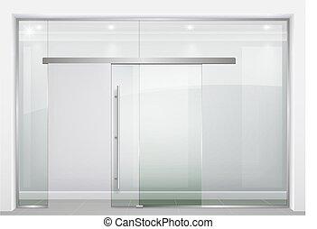 Sliding glass partition - Sliding door wardrobe or dressing...