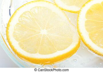 slieces, limone