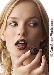 slik, chokolade