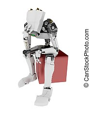 Slim Robot, in Thought