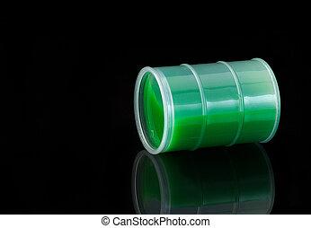 Slime spill