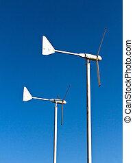 slingra energi, turbin