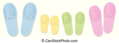 Slippers Family Set Mother Father Children