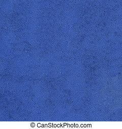 slitet, blå, konstläder, struktur