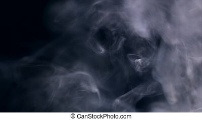 Slo-Mo Smoke Screen 03 - smoke screen in slow motion