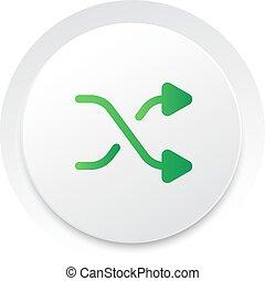 sloffen, eenvoudig, knoop,  Vector, Muziek,  interface,  UI, cirkel