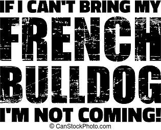 slogan, bouledogue français