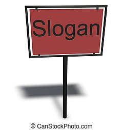 slogan/claims - a memorable motto or phrases.