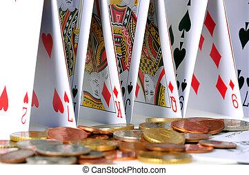 slot, i, cards, og, mønter
