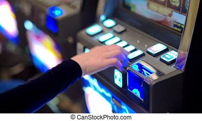 Slot machine casino. Financial risk taking. - Slot machine ...
