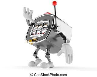 Slot machine character