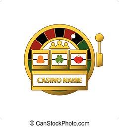 Slot Machine Logo