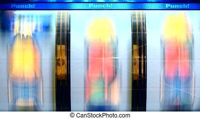 Slot Machine. - Slot machine reels.