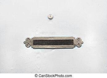 slot, spia, porta, vendemmia, posta, buco, bianco