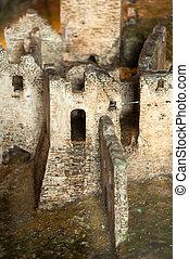 slott, fördärvar
