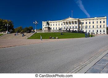 Slottet (Royal Palace), Oslo, Norway