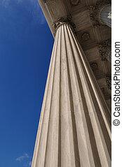 sloupec, v, sjednocený vyjádřit, supreme court, do, washington dc