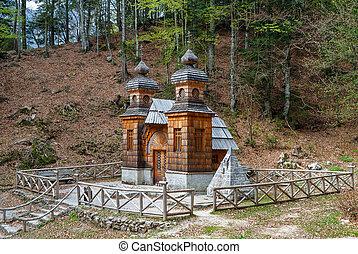 slovénie, chapelle