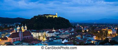 slovénie, ljubljana, capital