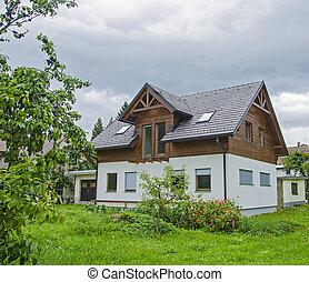 slovénie, villa