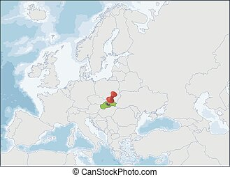 Slovakia is a landlocked country in the eastern part of Central Europe