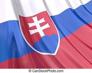 Slovakia Flag - Glossy Flag of Slovakia.