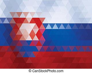 slovakia flag of vector