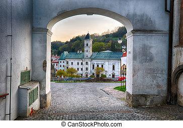 Slovakia historic city Kremnica