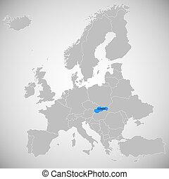 Slovakia - map