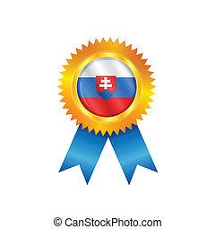 Slovakia medal flag