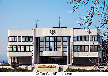 Slovakia Parliament Building