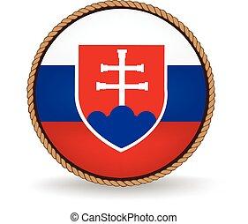 Slovakia Seal - Flag seal of Slovakia.